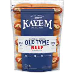 Old Tyme Natural Casing Beef Franks Pouch