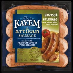 Artisan Sweet Sausage