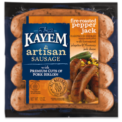Artisan Fire-Roasted Pepper Jack Sausage