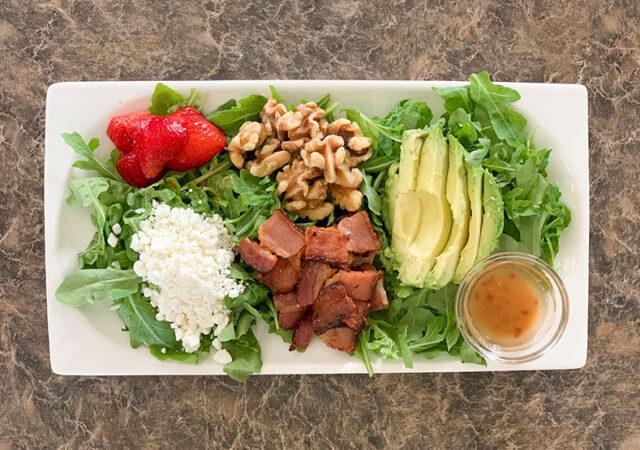 Bacon & Arugula Salad