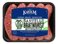 Night Shift Brewing Santilli Bratwurst