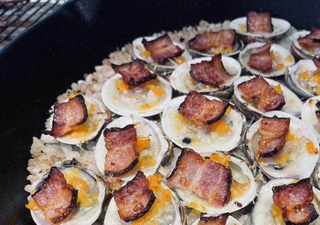 Double Smoked Bacon Clams Casino